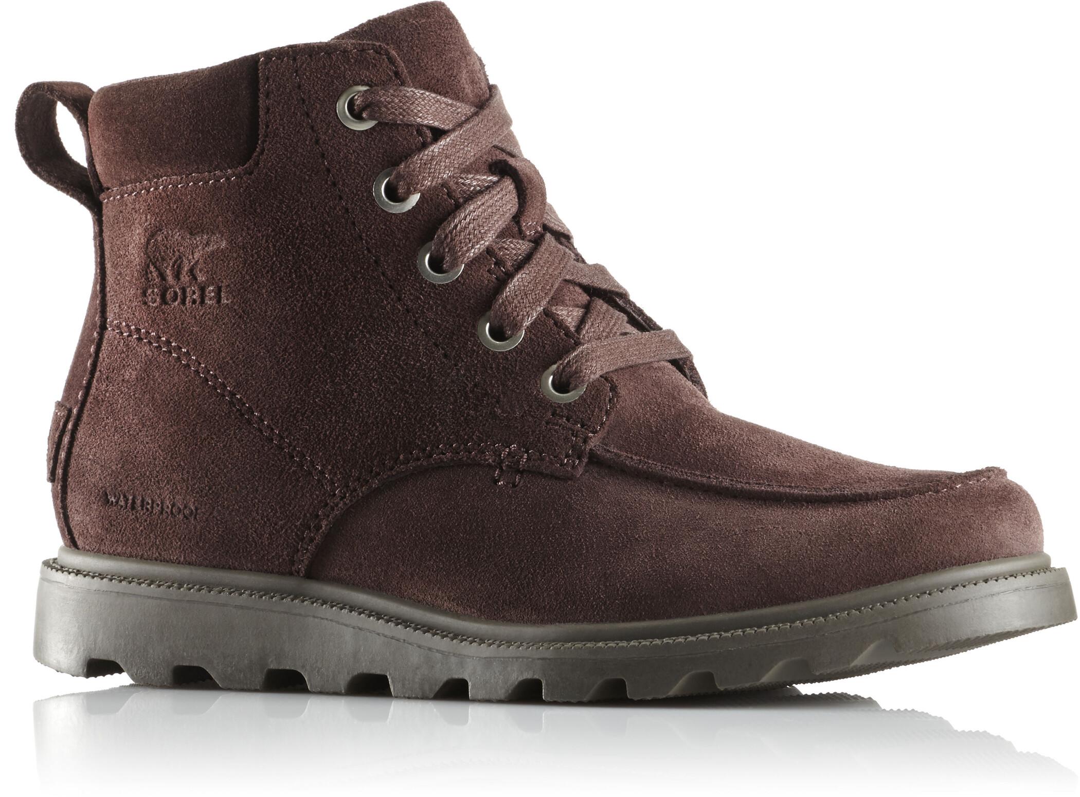 Sorel Madson Moc Toe Waterproof Shoes Barn blackblack