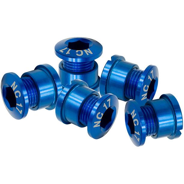 NC-17 Boulon de plateau 4 et 5 trous, bleu