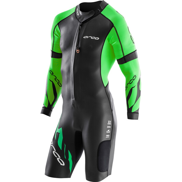 ORCA Core SwimRun Herr black/green