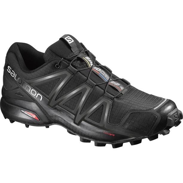 Salomon Speedcross 4 Wide Schuhe Herren black/black/black metallic
