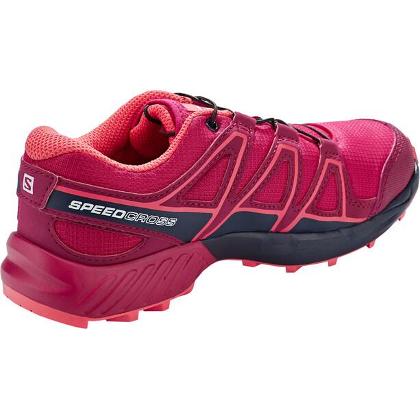 Salomon Speedcross Schuhe Kinder cerise./navy blazer/dubarry