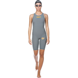 arena Powerskin R-Evo One Swimsuit Dam grey-bright orange grey-bright orange