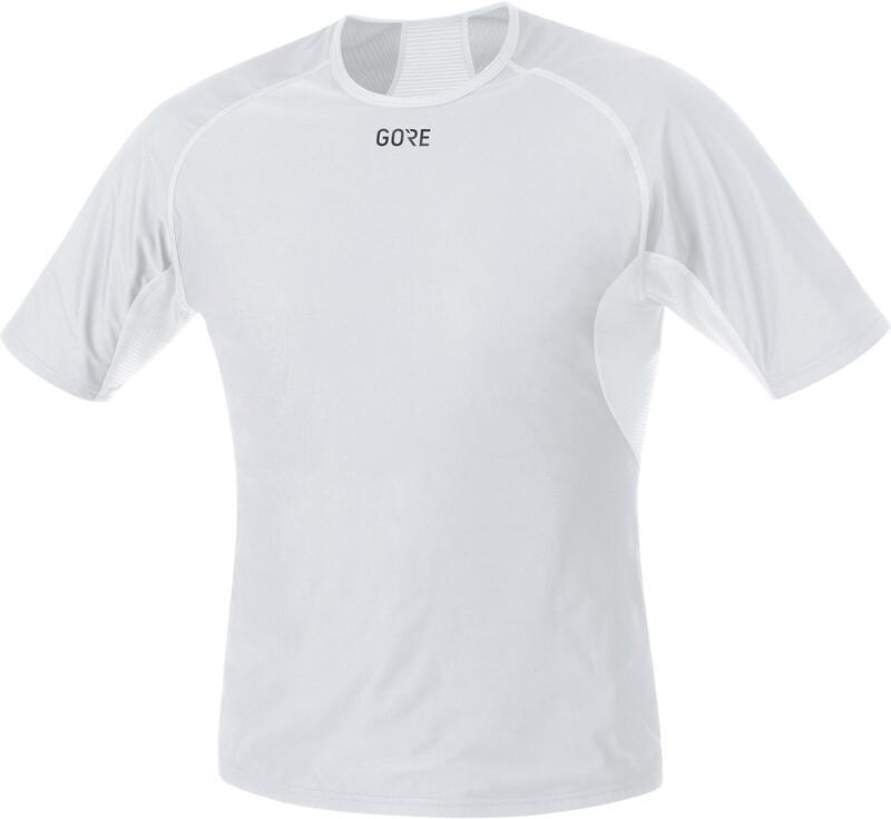 GORE WEAR Windstopper Base Layer Shirt Men light grey/white XXL 2019 Accessoires