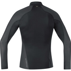GORE WEAR Windstopper Baselayer Thermo Rollkragenshirt Herren black black