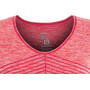 Salomon Elevate Move'On SS Tee Dam cerise/dubarry