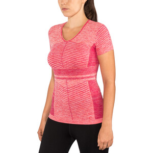 Salomon Elevate Move'On SS Tee Dam cerise/dubarry cerise/dubarry