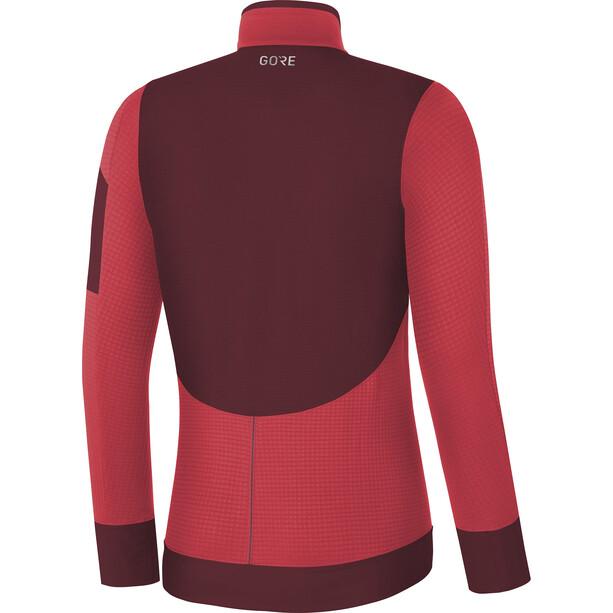 GORE WEAR Women Thermo Shirt Damen hibiscus pink/chestnut red