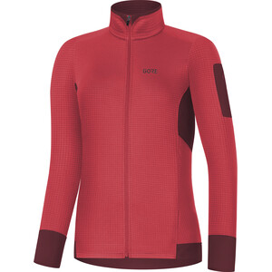 GORE WEAR Women Thermo Shirt Damen hibiscus pink/chestnut red hibiscus pink/chestnut red