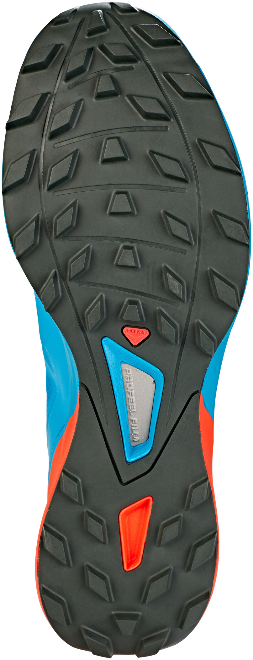 Salomon Sense Pro 3 Shoes Herr fjord bluecherry tomatourban chic