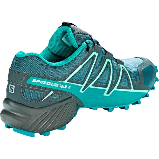 Salomon Speedcross 4 GTX Shoes Dam balsam green/tropical green/beach glass