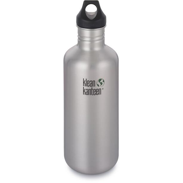 Klean Kanteen Classic Bottle Loop Cap 1182ml brushed stainless