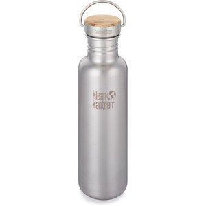 Klean Kanteen Reflect Bottle Bamboo Cap 800ml brushed stainless brushed stainless