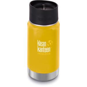 Klean Kanteen Wide Vacuum Insulated Bottle Café Cap 2.0 355ml lemon curry matt lemon curry matt