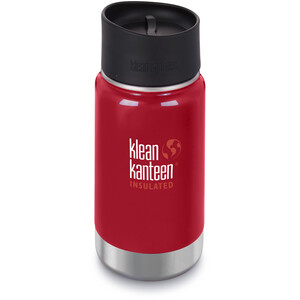 Klean Kanteen Wide Vacuum Insulated Bottle Café Cap 2.0 355ml mineral red mineral red