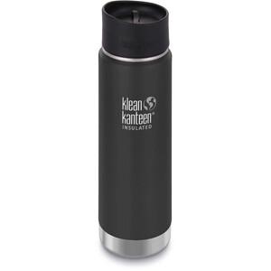 Klean Kanteen Wide Vacuum Insulated Bottle Café Cap 2.0 592ml shale black matt shale black matt