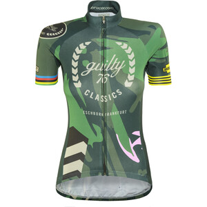 guilty 76 racing Classic Edition Maillot de cyclisme Femme