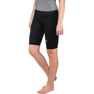 Aclima WarmWool Lange Shorts with Windstop Damen jet black jet black