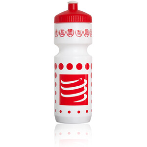 Compressport Cycling Bottle 750ml white/red white/red