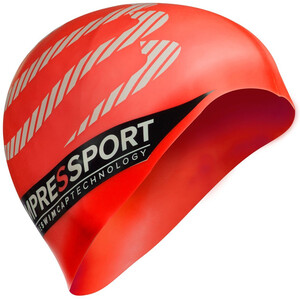 Compressport Swimming Cap red red