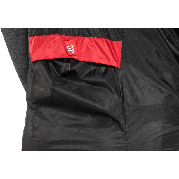 Compressport Cycling Hurricane Windprotect Weste black