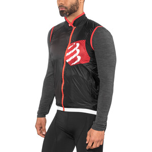 Compressport Cycling Hurricane Windprotect Weste black black