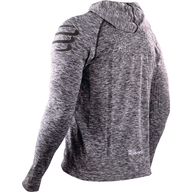 Compressport 3D Thermo Seamless Hoodie grey melange