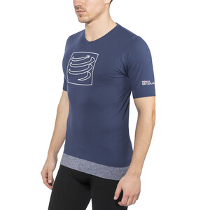 Compressport Training T-shirt, blue blue
