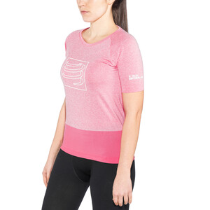 Compressport Training T-Shirt Dame pink pink