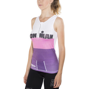 Compressport TR3 Triathlon Tank Top Irnmn Edition Women, stripes purple stripes purple