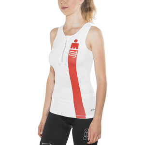Compressport TR3 Triathlon Tank Top Irnmn Edition Women, smart white smart white