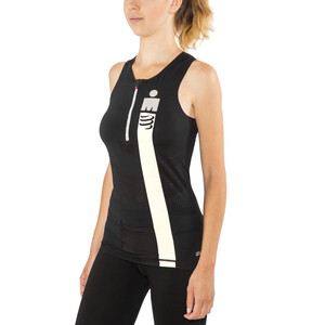 Compressport TR3 Triathlon Tank Top Irnmn Edition Women, smart black smart black