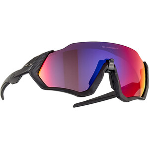 Oakley Flight Jacket Sonnenbrille schwarz schwarz