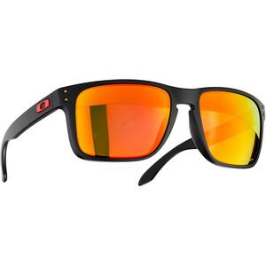 Oakley Holbrook XL Solbriller, sort/orange sort/orange