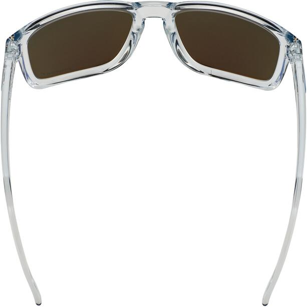 Oakley Holbrook XL Lunettes de soleil, transparent/bleu