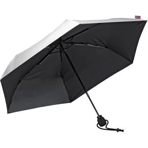 EuroSchirm Light Trek Ultra Paraplu, zilver/zwart zilver/zwart