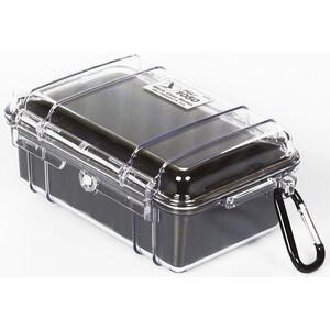 Peli MicroCase 1050 Box schwarz/transparent schwarz/transparent