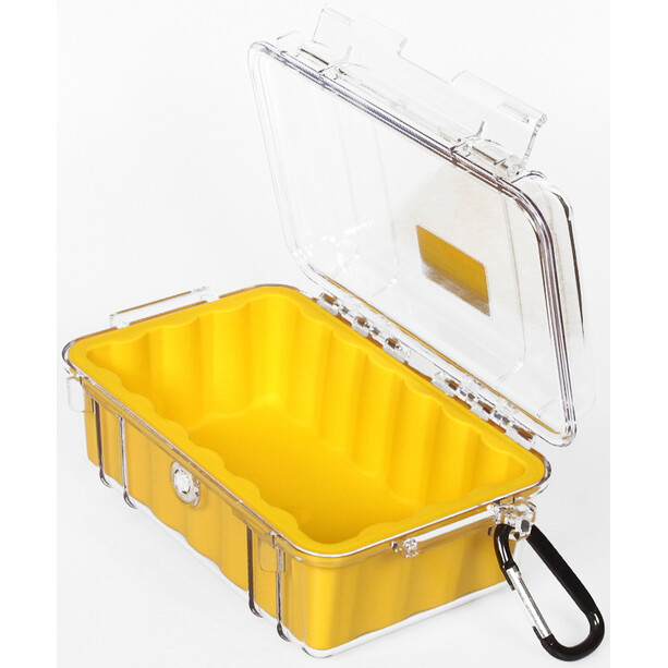 Peli MicroCase 1010 Sacoche, jaune/transparent