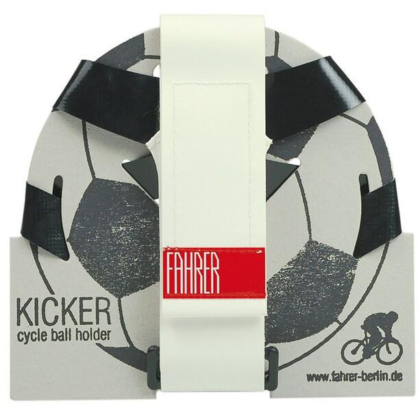 Fahrer Berlin Kicker Ballhalter weiß