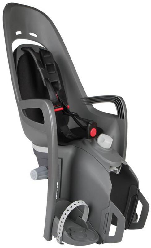 Zenith Relax Kindersitz Gepäckträger grau/schwarz 2018 Kindersitz-Systeme