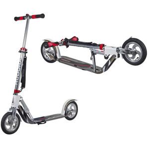 HUDORA Big Wheel Air Trottinette de ville Enfant, blanc/argent blanc/argent
