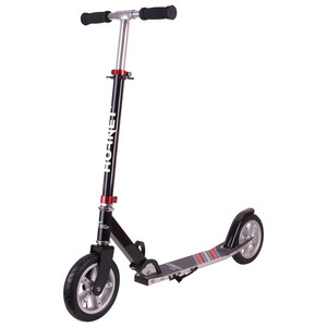 HUDORA Hornet City Scooter Barn black/red black/red