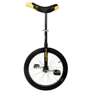 QU-AX Luxus enhjuling Svart Svart