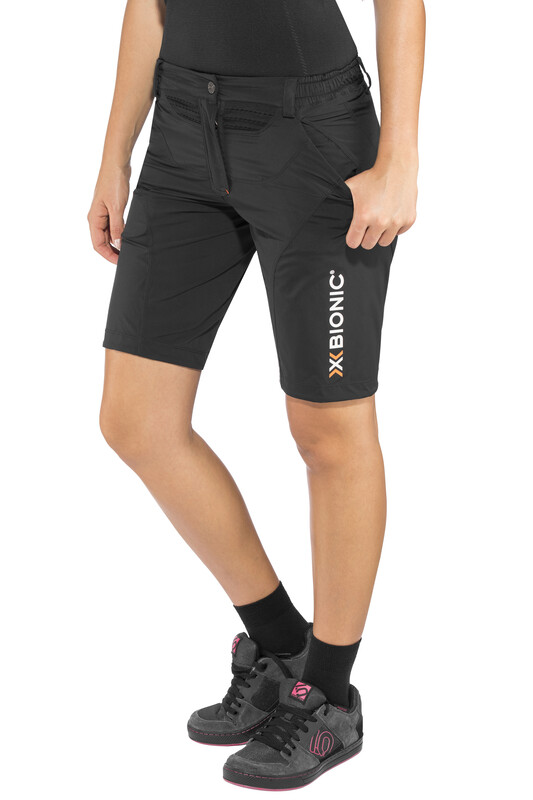 X-Bionic Mountain Bike Short Pants Women Black S 2017 Fahrradhosen, Gr. S