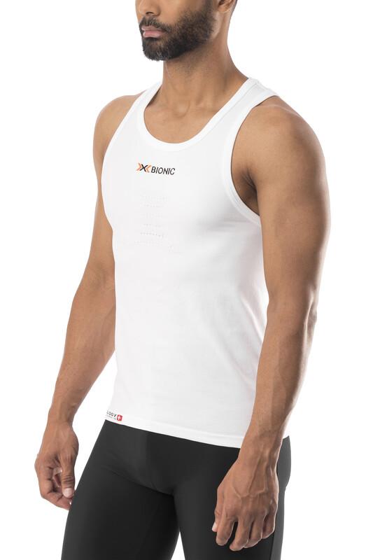 X-Bionic Speed Running Singlet Men White/Pearl Grey XL 2017 Laufunterhemden