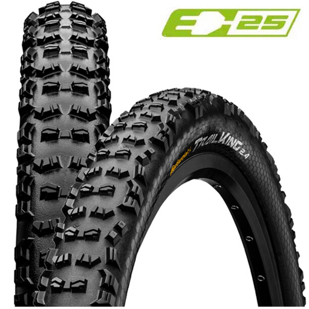 "Continental Trail King II Performance 2.4 Folding Tyre 29"" black"
