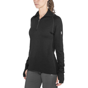 Devold Expedition Zip Shirt Damen black black