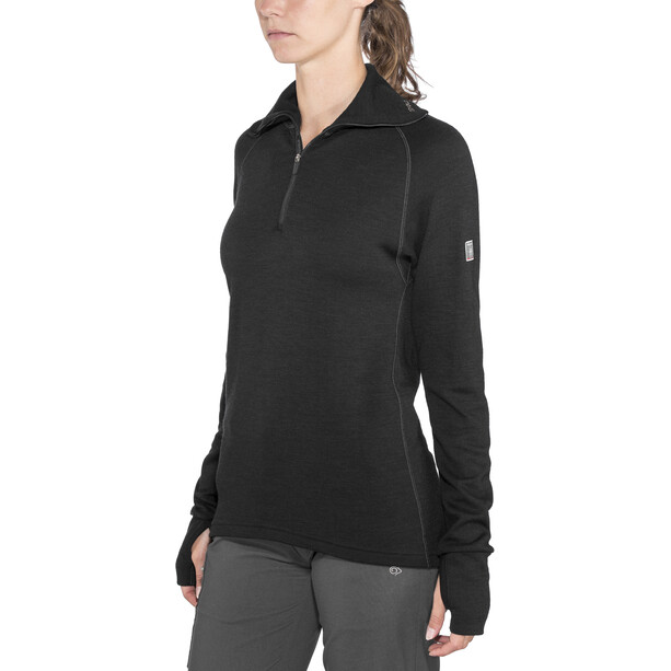 Devold Expedition Zip Shirt Damen black