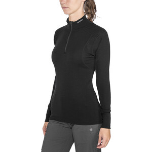 Devold Hiking Half-Zip Shirt Damen black black