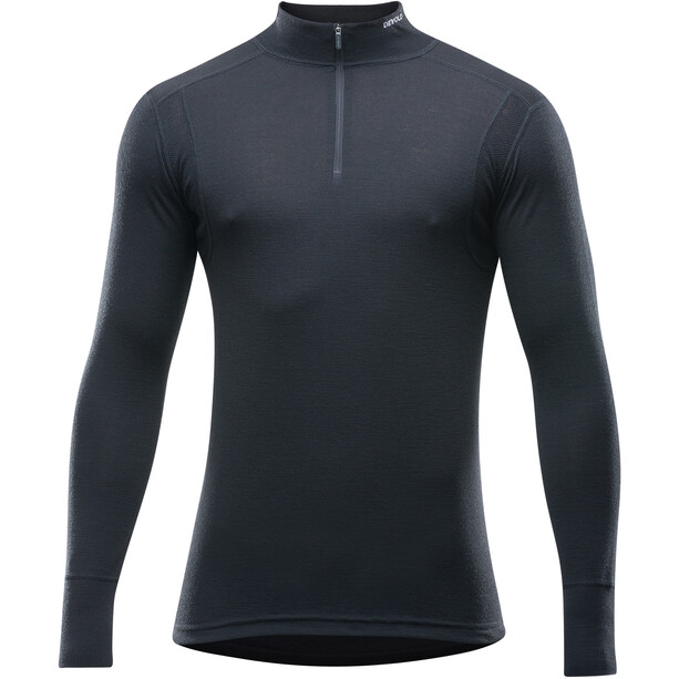 Devold Hiking Half Zip Neck Shirt Herr black