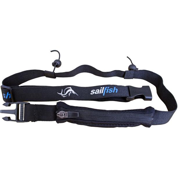 sailfish Racenumberbelt Pocket schwarz
